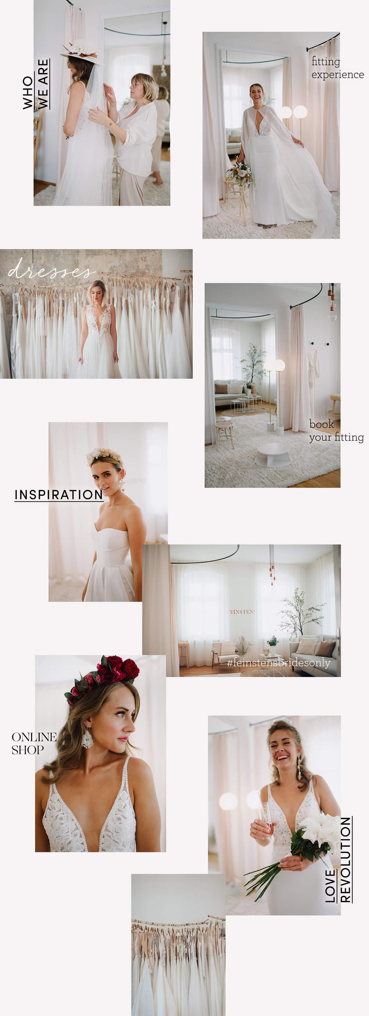 FEINSTENS  Brautkleider, Brautmode, Hochzeitskleider Linz